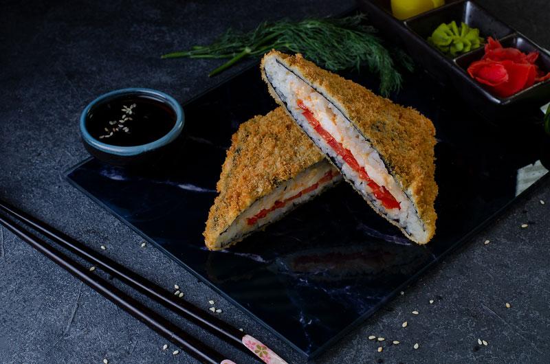 Хрустящий сендвич с курицей